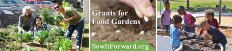 SowItForward.org - Grants for Food Gardens