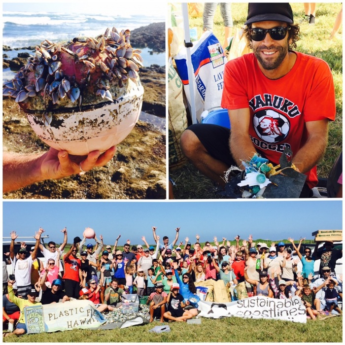 Polynesian Voyaging Society Worldwide Voyage Update | Plastic Free Hawaii Beach Cleanup