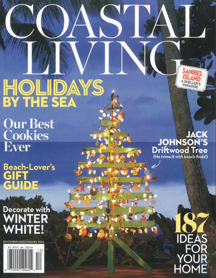 Jack S Driftwood Tree On The Cover Of Coastal Living