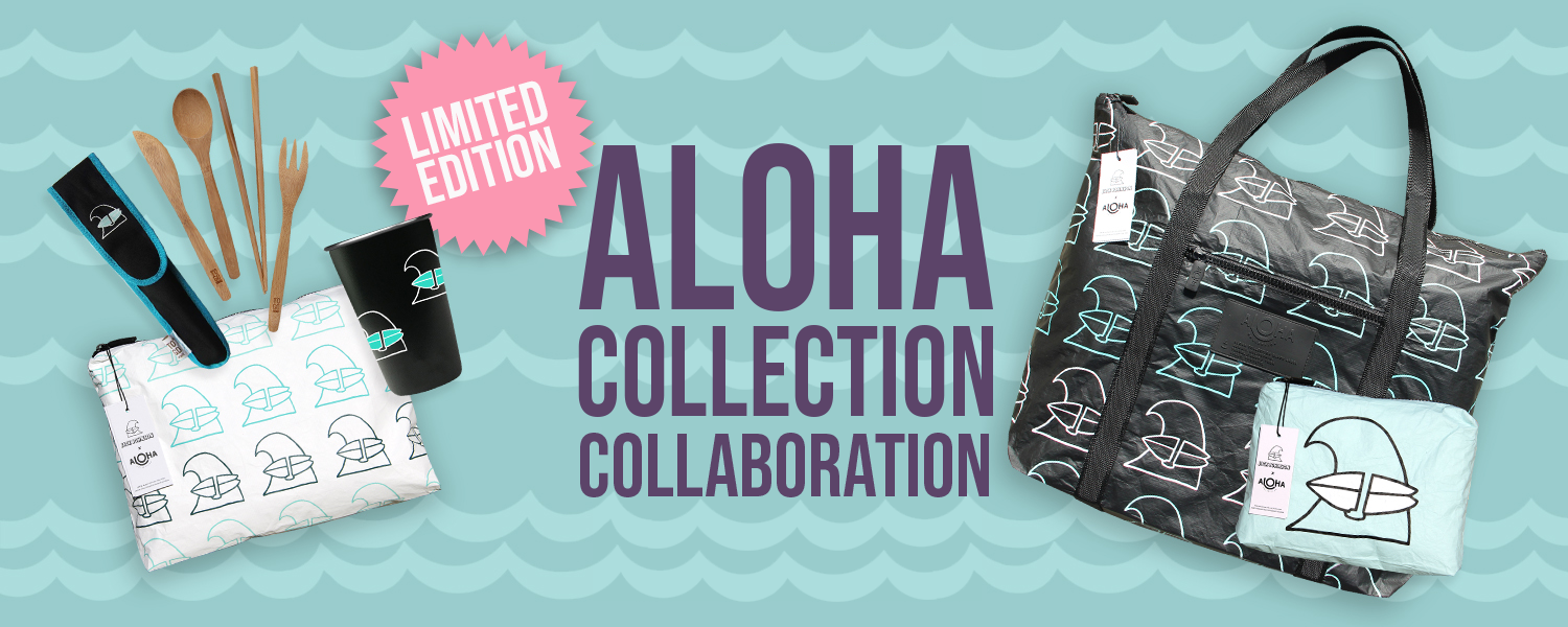 ceada469dcf3 Jack Johnson Music partnered with Aloha Collection on a set of custom Aloha  Collection bags and totes. Featuring the original Jack Johnson Surfing Wave  ...