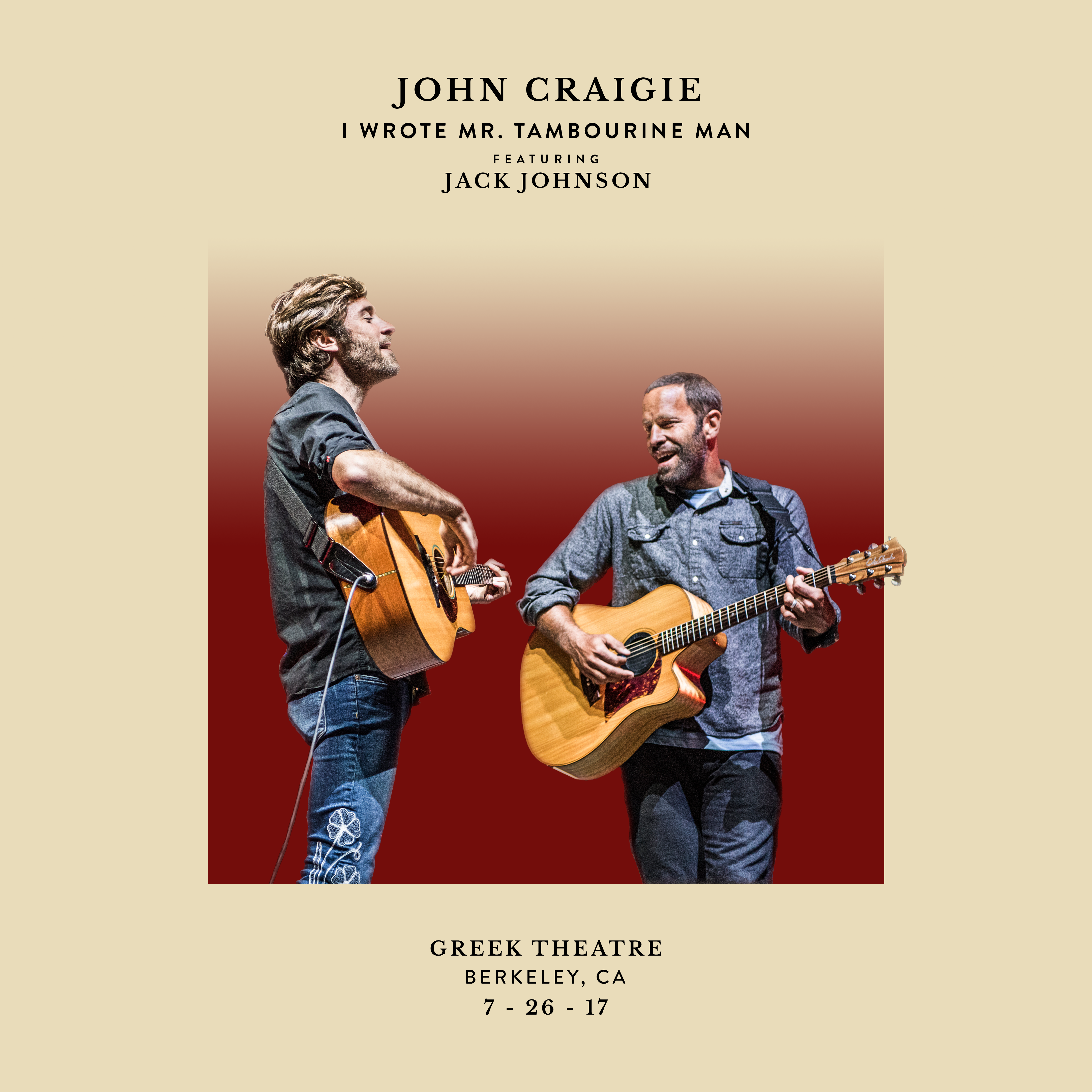 Home Jack Johnson Music Tips For Buying An Electric Guitar Guitars 101 Your Bible On Friday Our Good Friend John Craigie Released A Version Of His Song I Wrote Mr Tambourine Man Recorded Live July 26th 2017 At The Greek Theatre In