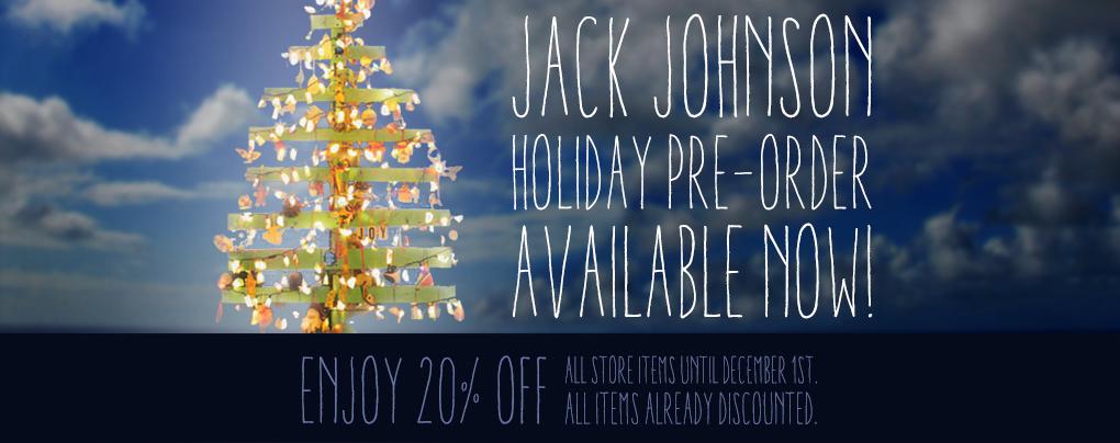 Jack Johnson Holiday Pre-order - News - Jack Johnson Music